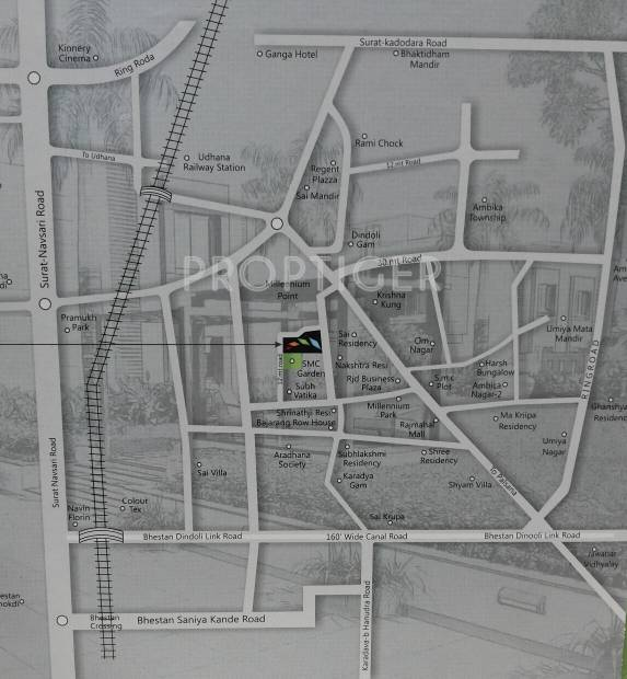 Images for Location Plan of Savani Prims Rowhouse