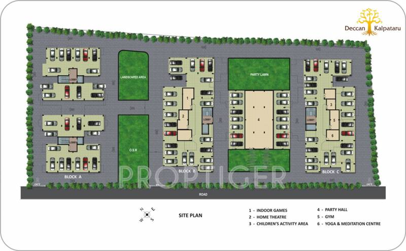 Images for Site Plan of Deccan Kalpataru