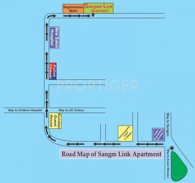 sangam-link-apartments Images for Location Plan of Sangam Sangam Link Apartments