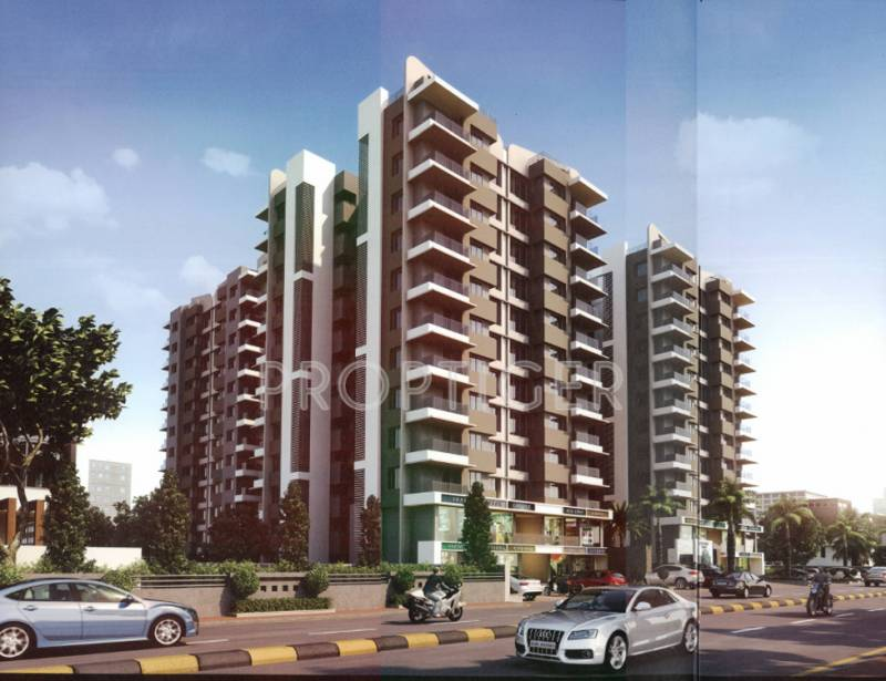 Images for Elevation of Shree Gajanand Stylome Heights