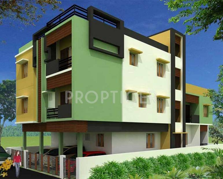 Images for Elevation of Annai Genesis Apartment