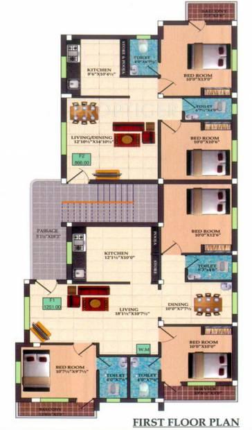 Images for Cluster Plan of Infraz Edenz