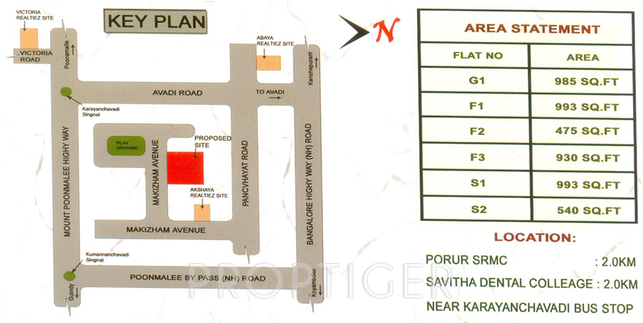 540 Sq Ft 1 Bhk 1t Apartment For Sale In Infraz Paradise