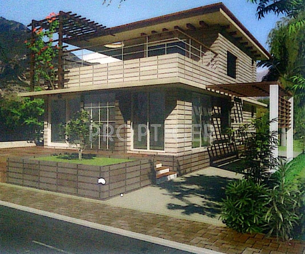 Sanghvi serene city villa in karjat mumbai price for Villa elevation photos