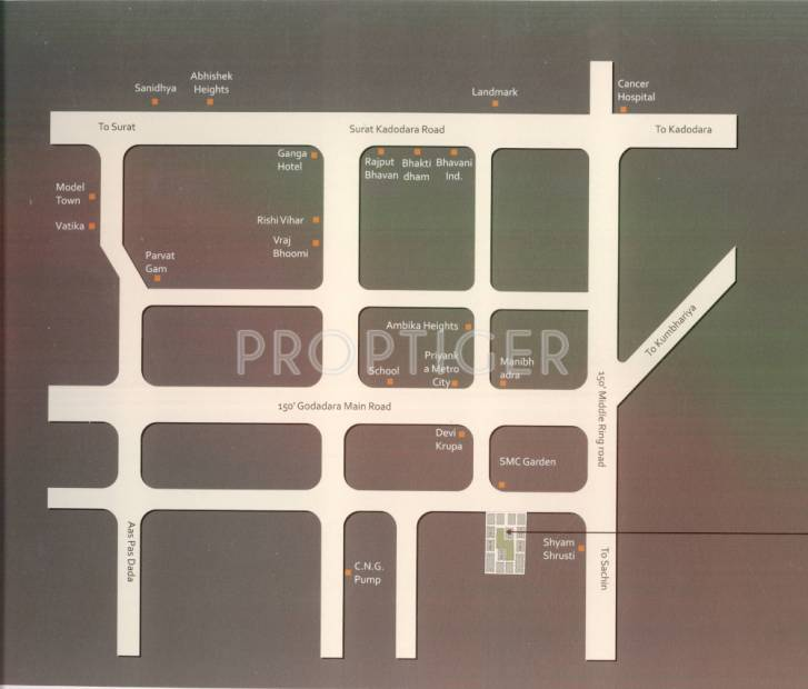 Images for Location Plan of Shree Avenue