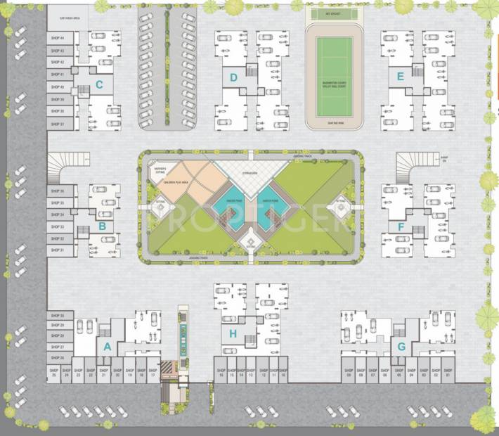 Images for Layout Plan of KLM Sapphire8