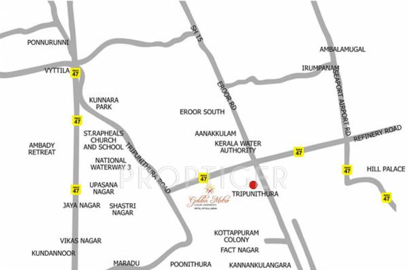 Images for Location Plan of  Golden Metro