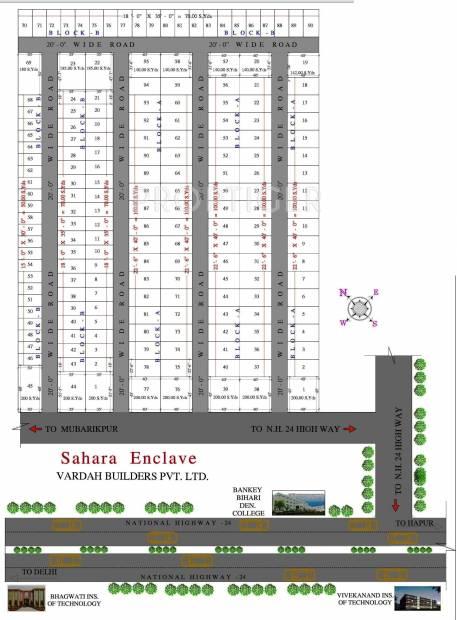 Images for Layout Plan of Vardah Sahara Enclave