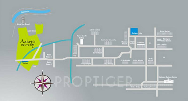 the-nest Images for Location Plan of Aakriti The Nest