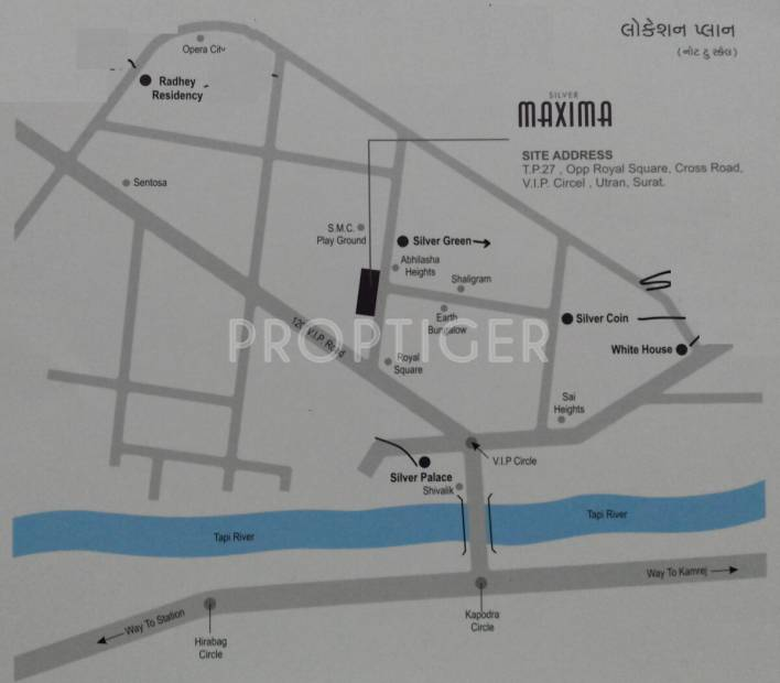 maxima Images for Location Plan of Silver Maxima