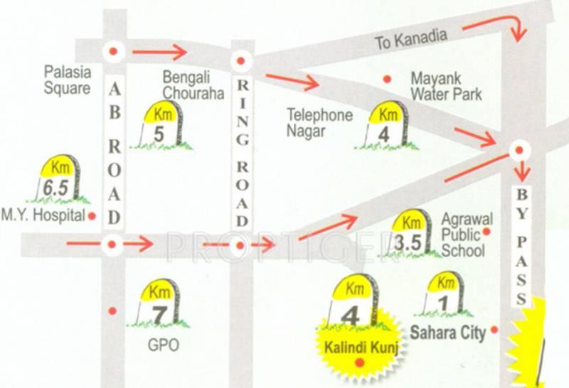 Images for Location Plan of Sunil Nilgiri Apartment