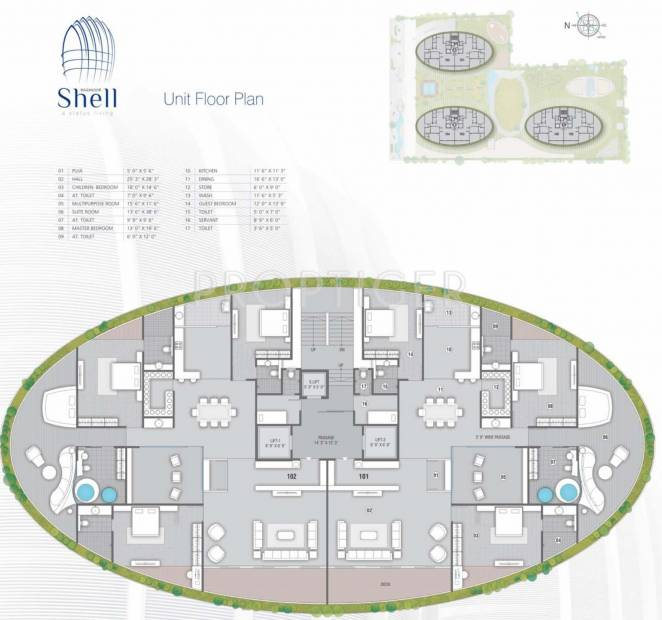 Images for Cluster Plan of Raghuvir Shell