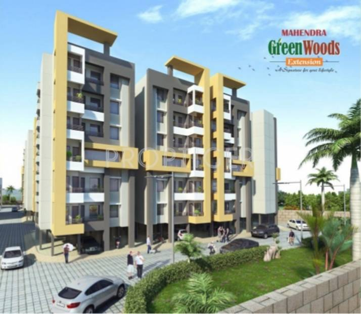 Images for Elevation of Mahendra Greenwoods Extension Apartment