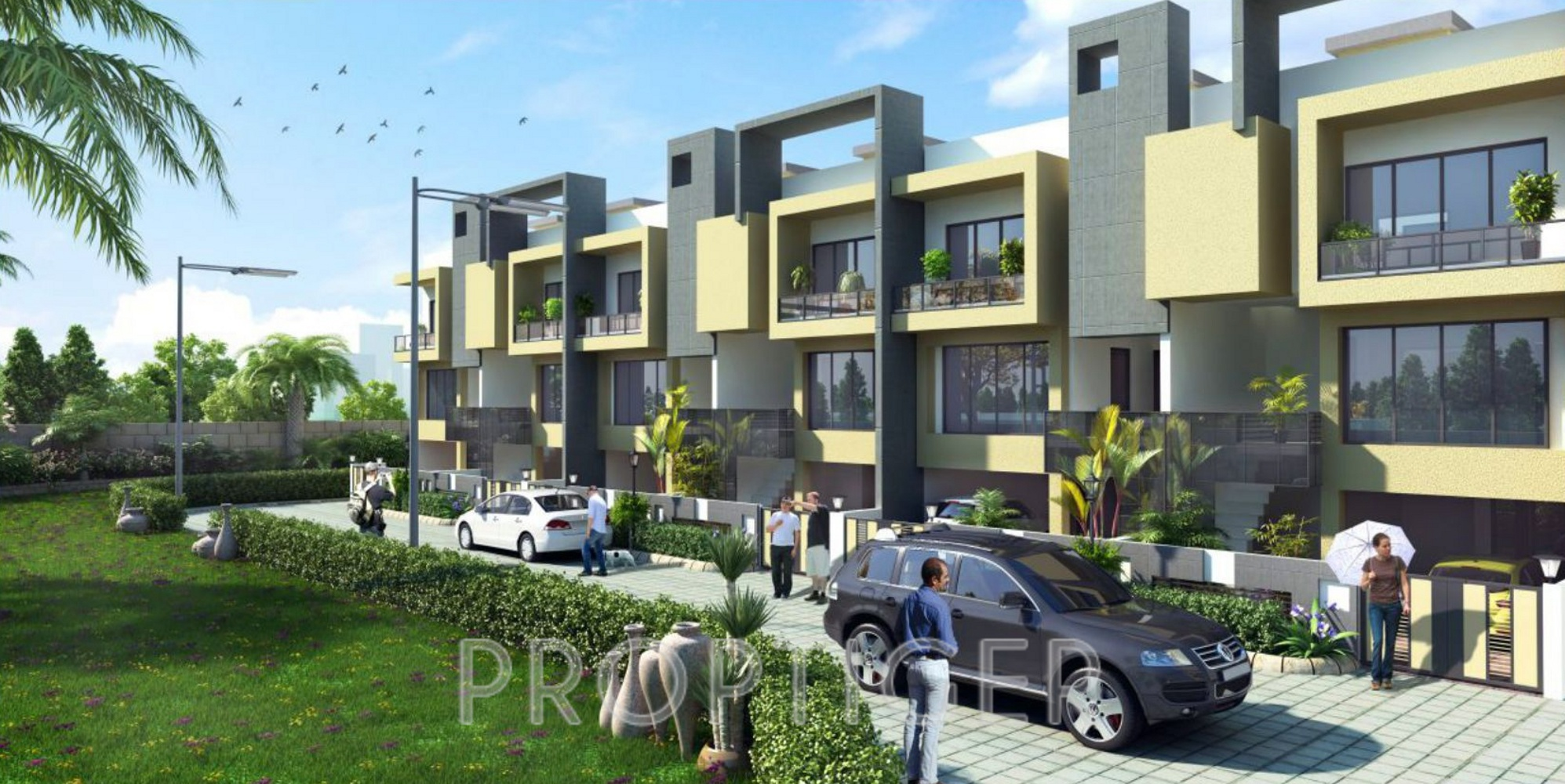 Image of location map of mahendra builders greenwoods for Greentown villas 1 extension