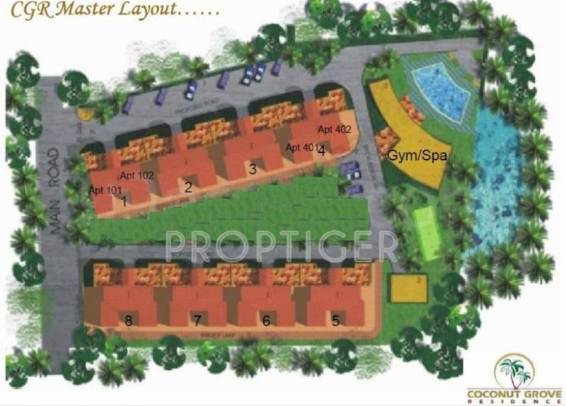 Images for Layout Plan of Getmore Coconut Grove Residence