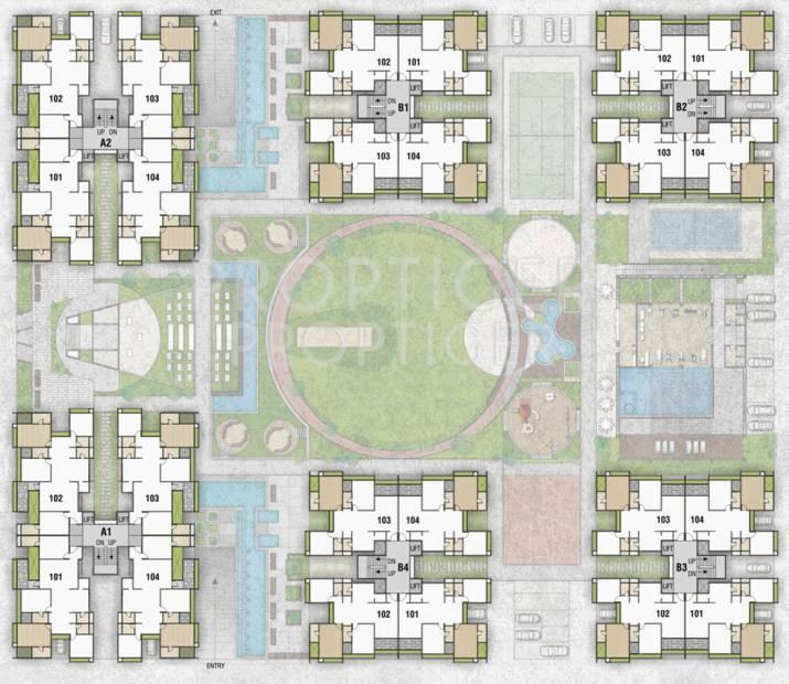 Images for Cluster Plan of Pramukh Aranya
