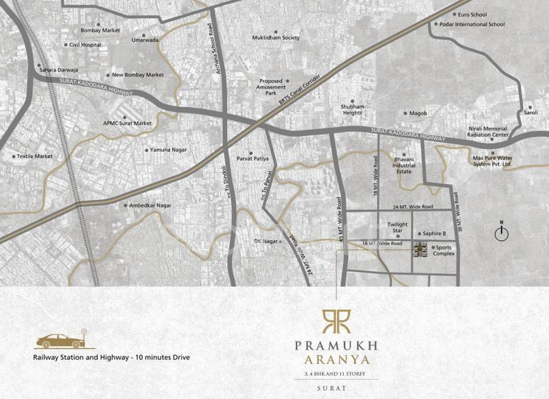 Images for Location Plan of Pramukh Aranya