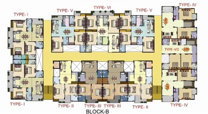Images for Cluster Plan of Ram Gold Line Residency