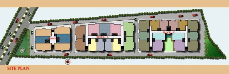 Images for Layout Plan of Ram Gold Line Residency