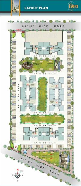 shiv-residency Images for Layout Plan of Raghuvir Shiv Residency