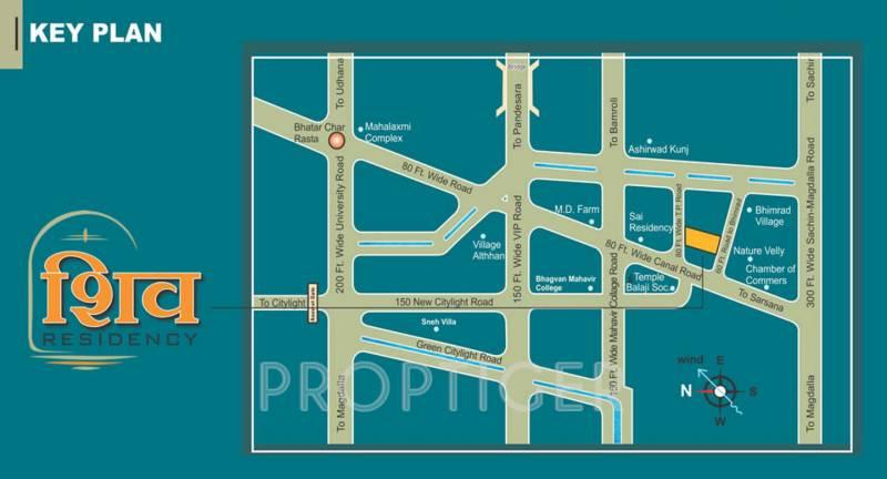 shiv-residency Images for Location Plan of Raghuvir Shiv Residency