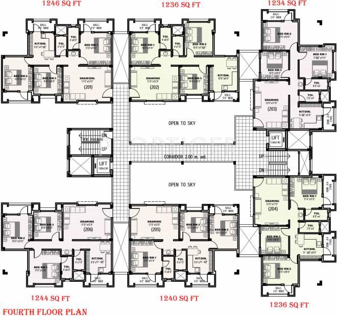 Images for Cluster Plan of Atharva Nagari II