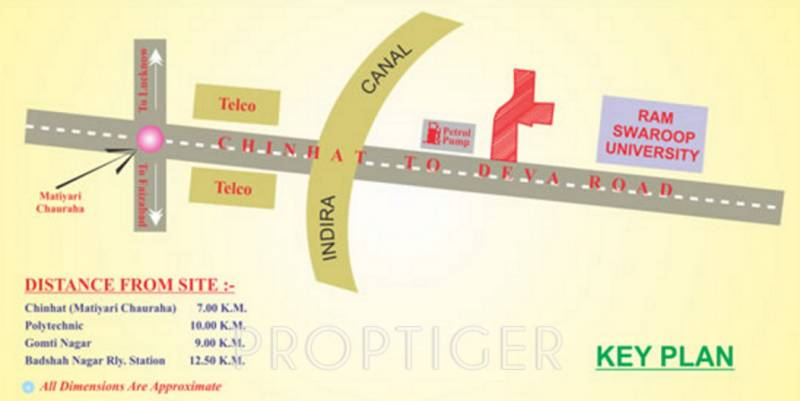 Images for Location Plan of Chitragupta Awadh City