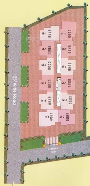 rajshree-enclave Layout Plan