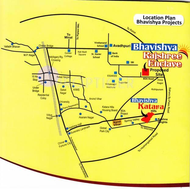 rajshree-enclave Location Plan