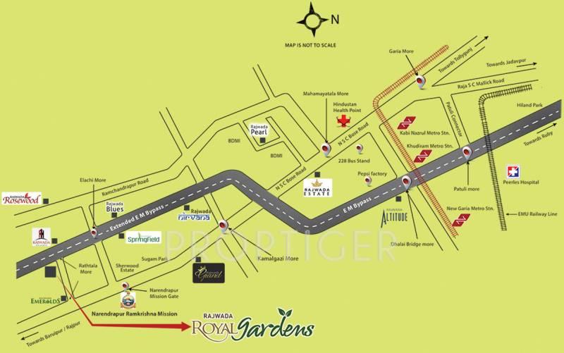 Images for Location Plan of Rajwada Royal Gardens