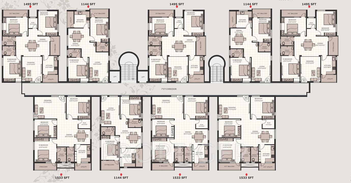 Jay Pragati Mansion in Khodasing