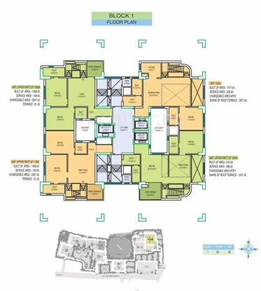 Images for Cluster Plan of Fort Oasis Apartment