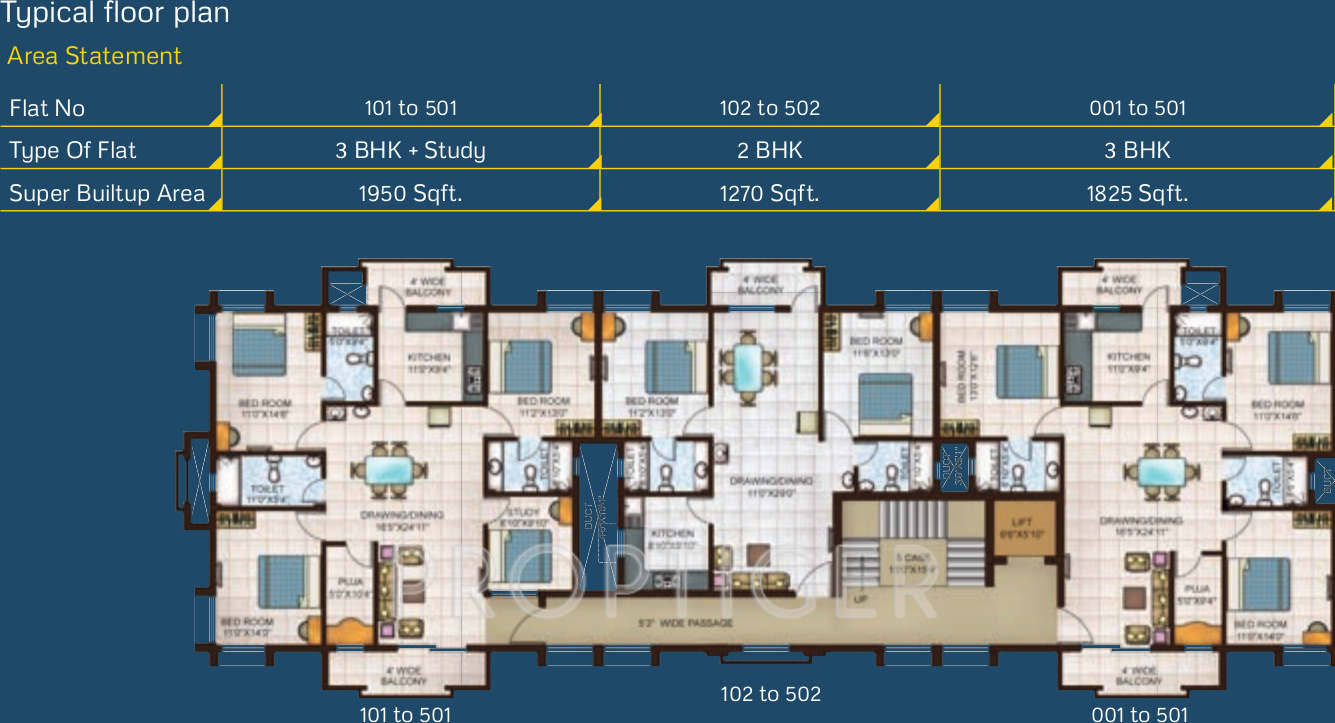 1950 sq ft 3 bhk 3t apartment for sale in basera designs for Apartment design and development ltd