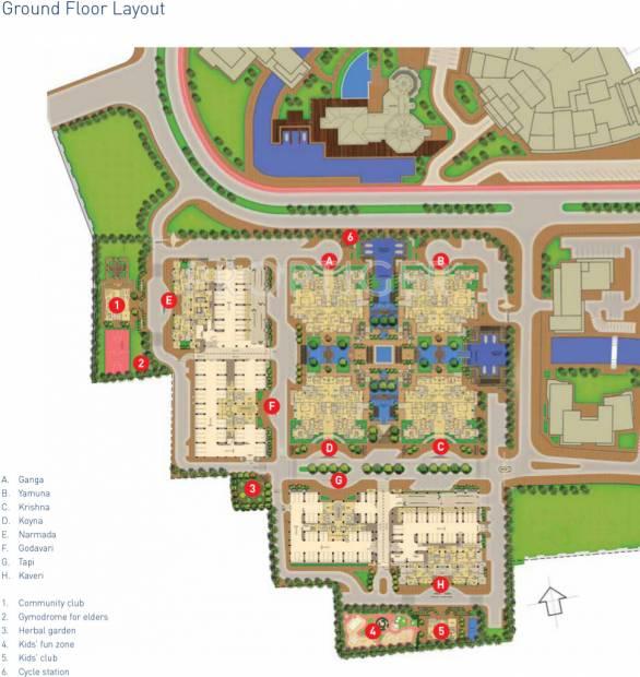 Layout Plan Image of DS Kulkarni Developers Limited Waterfall ...