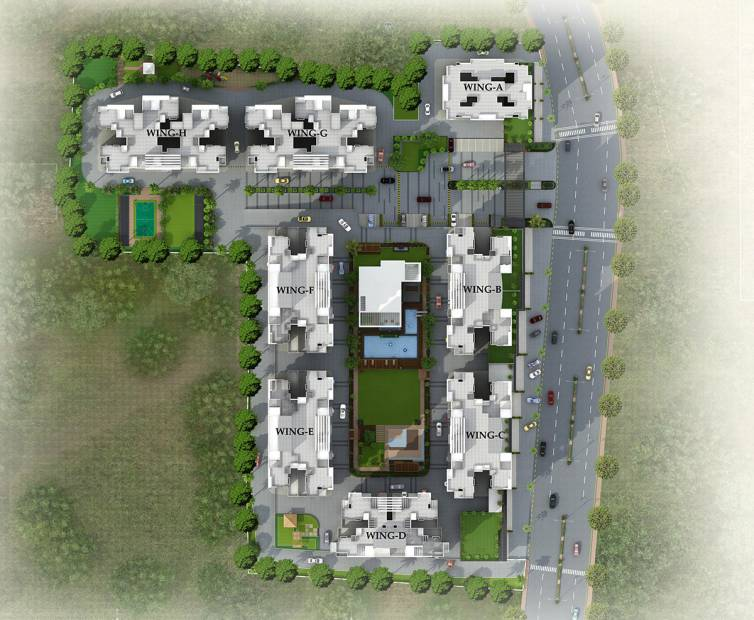 Images for Layout Plan of Paranjape Azure A C D E And F