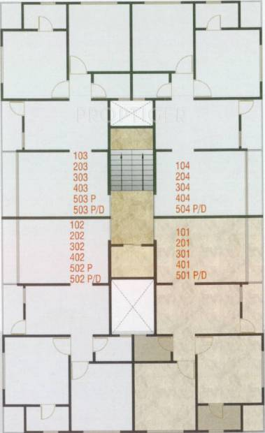 Images for Cluster Plan of Shree Radhe Shyam Enclave