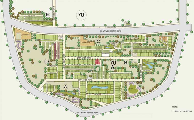 Images for Master Plan of BPTP Astaire Garden Plots