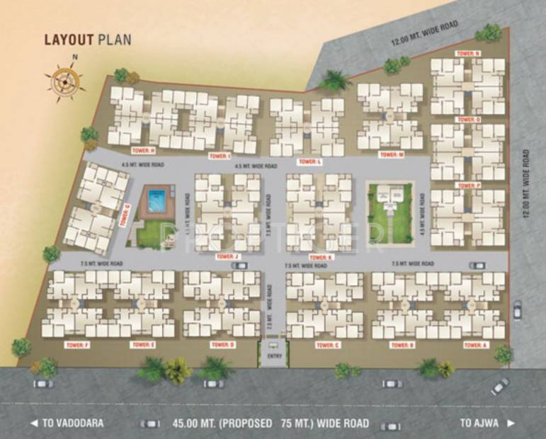 samruddhi Images for Layout Plan of Ananta Samruddhi
