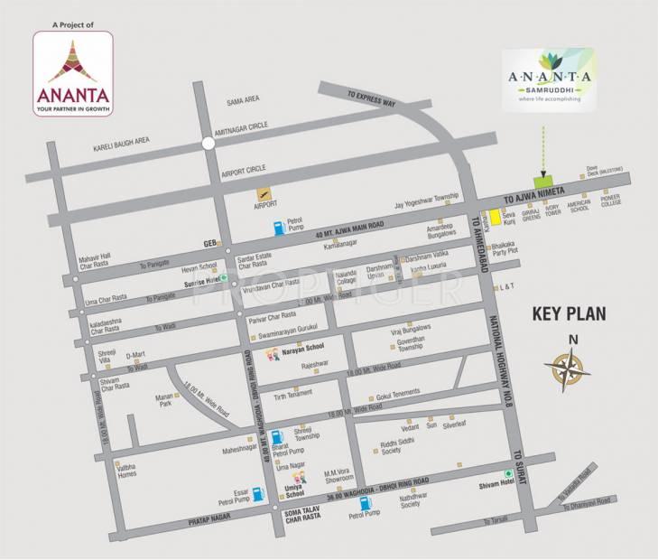 samruddhi Images for Location Plan of Ananta Samruddhi