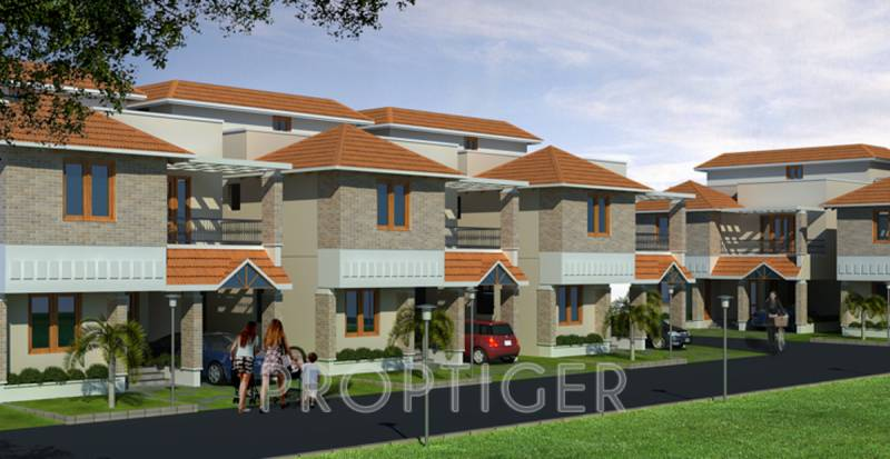 Images for Elevation of Ieglo Developers Krishna Kuteer White House Phase 2