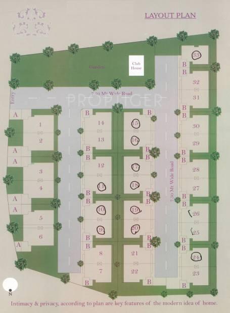Images for Layout Plan of Krisnyog Pramukh Swami Residency