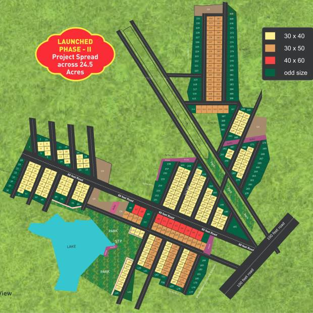 Images for Layout Plan of BSR Akruthi Green Woods