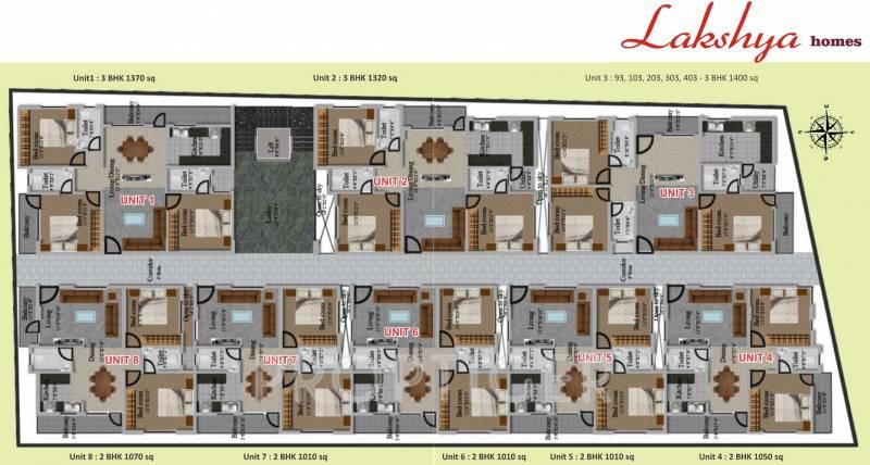 Images for Cluster Plan of Lakshaya Lakshya Homes
