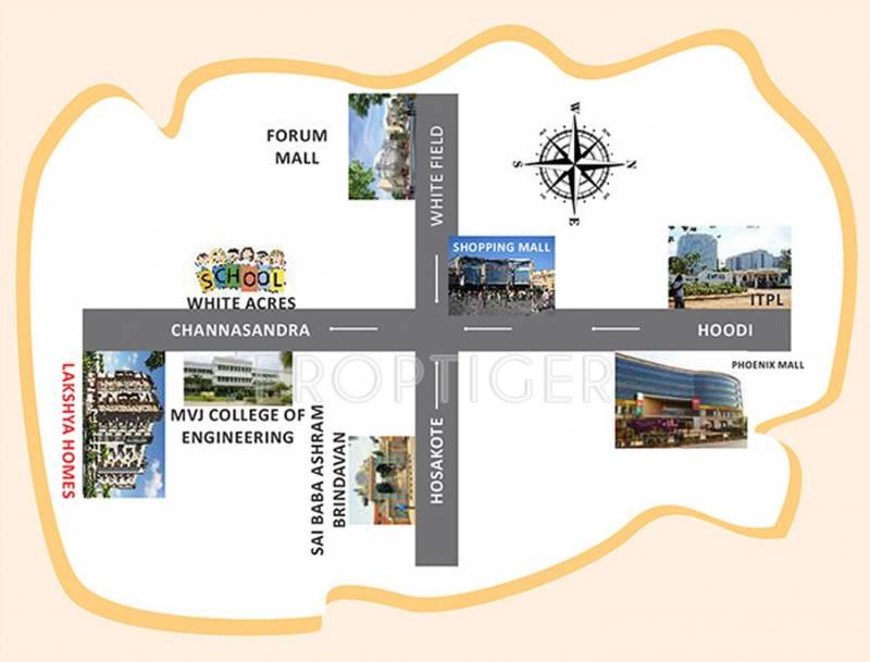 Images for Location Plan of Lakshaya Lakshya Homes