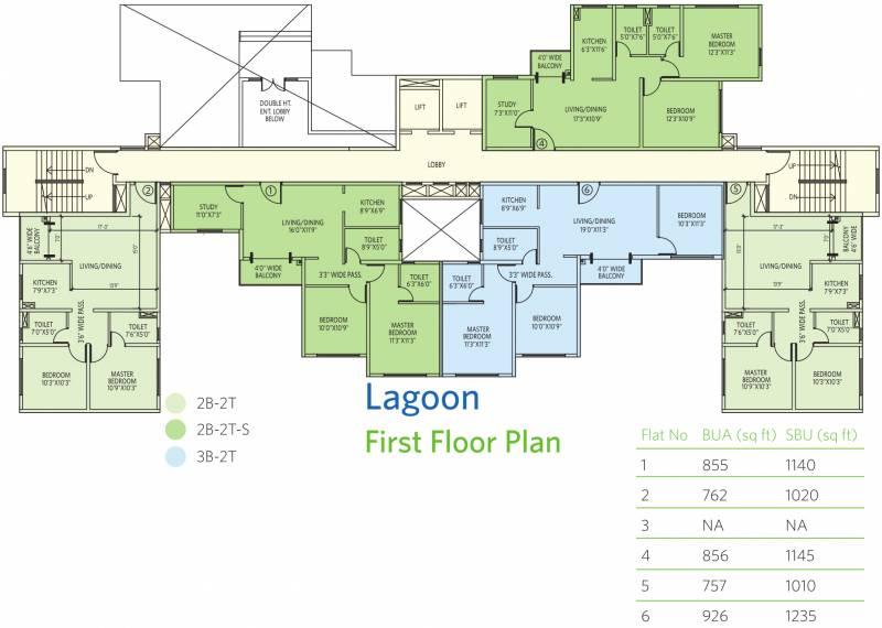 eden-lakeville Images for Cluster Plan of Siddha Eden Lakeville
