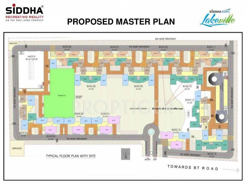 eden-lakeville Images for Master Plan of Siddha Eden Lakeville