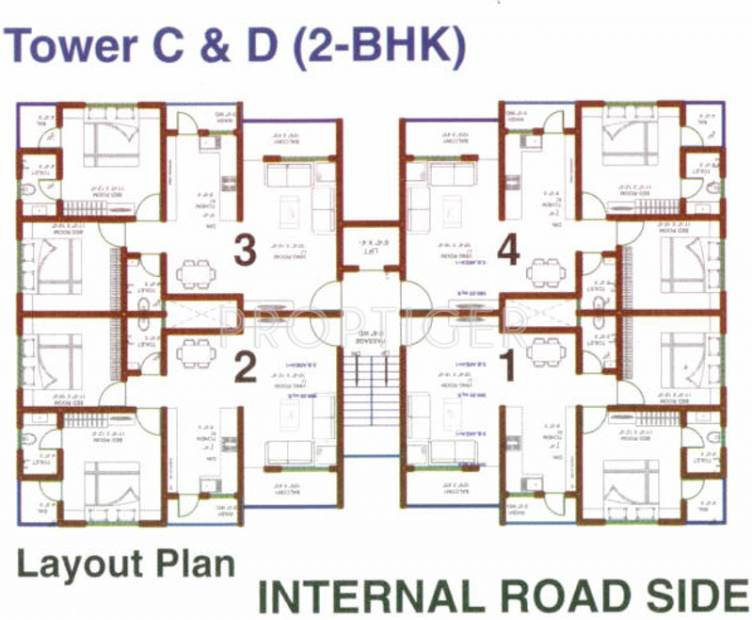 Images for Cluster Plan of Wallman Sukhdham Residency