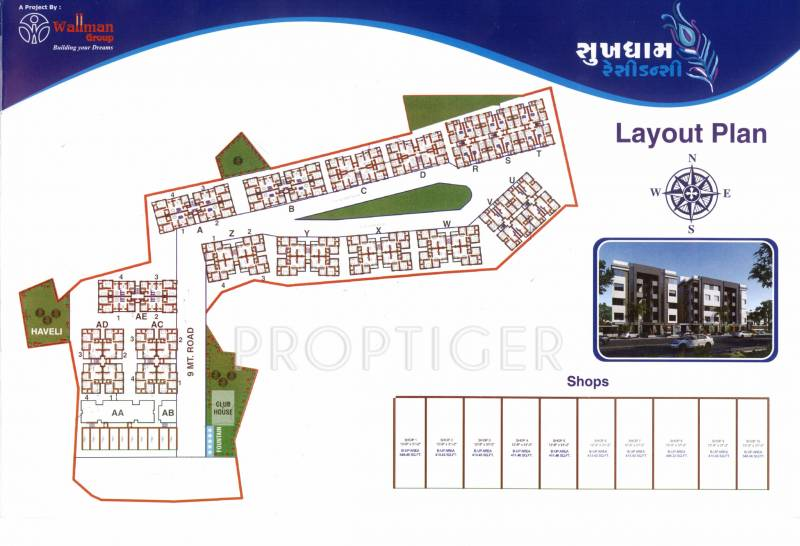 Images for Layout Plan of Wallman Sukhdham Residency