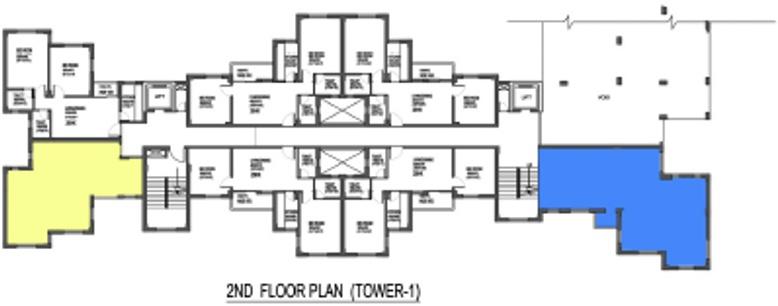 Images for Cluster Plan of Mantra Commodeal Pvt Ltd Mantra Vihar