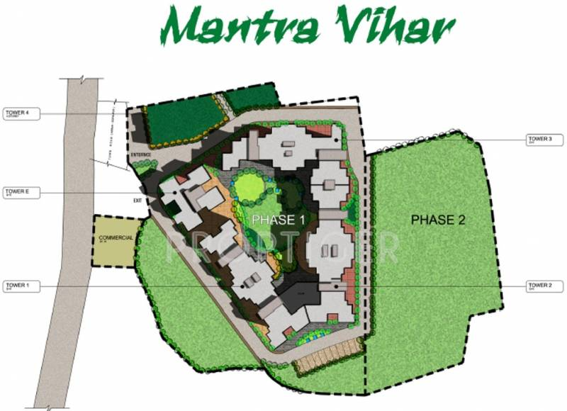 Images for Layout Plan of Mantra Commodeal Pvt Ltd Mantra Vihar